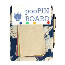 Elephant poo magnetic pin board activity pack