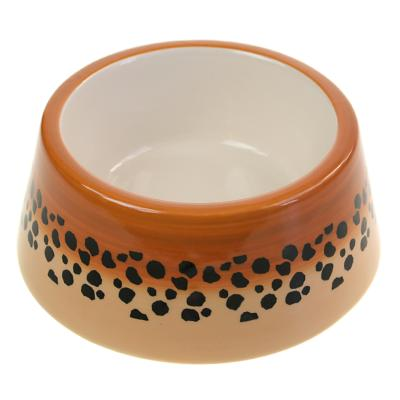 Cat bowl cheetah **