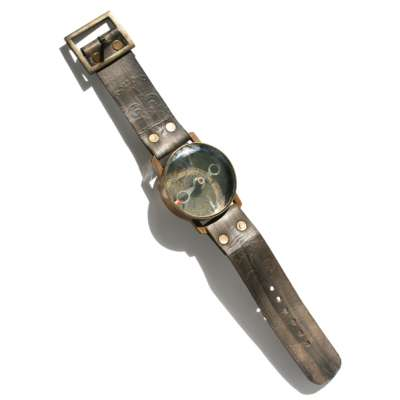 Compass on watch strap royal navy