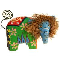 Card/photograph holder elephant