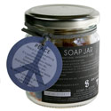 Jar of soaps, peace
