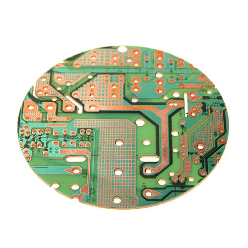 Coaster, recycled circuit board, 9cm