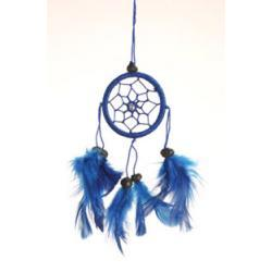 Dreamcatcher 5cm blue