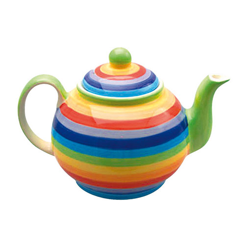 Small Rainbow Teapot **