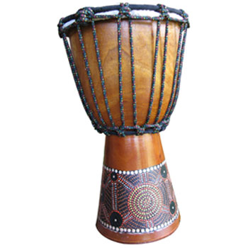 Djembe painted 30cm