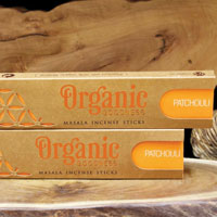 Organic incense patchouli **