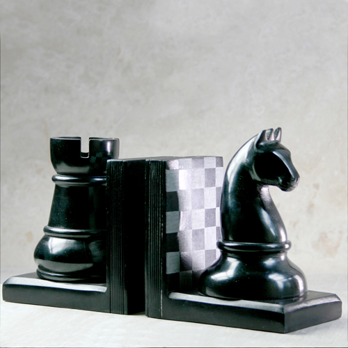 Bookends chess pieces