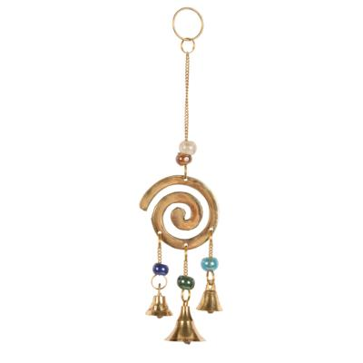 Brass chime mini spiral