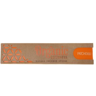 Incense, Organic Goodness, patchouli