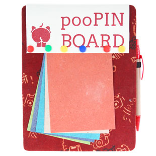 Recycled Elephant Dung Stationery
