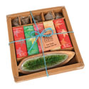 Incense gift set Christmas scents 22x17cm
