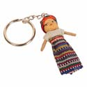 Worry doll keyring