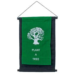 Hanging banner, Plant a Tree