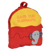 Child's backback, save our elephants