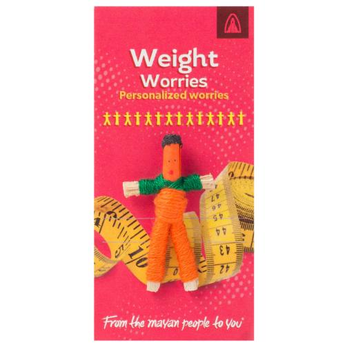 Worry doll mini, weight worries