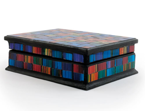 Rainbow Spectrum Jewellery Box **