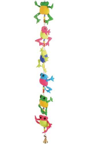 Tota bells children's mobile frogs