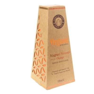 Reed stick diffuser Organic Goodness, Nagpuri Narangi Orange, 100ml