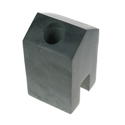 Stone candle holder 10cm height
