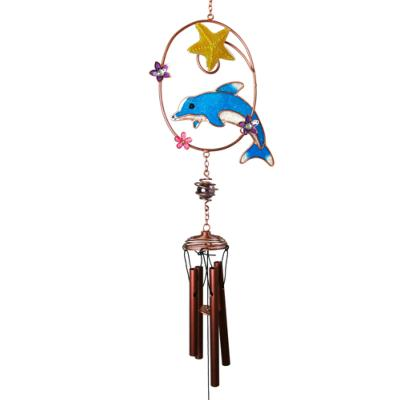 Chime dolphin with star **