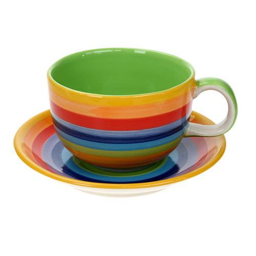 Rainbow breakfast set **