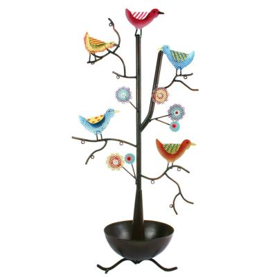 Jewellery tree, Birds