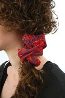 Hairband cotton reds