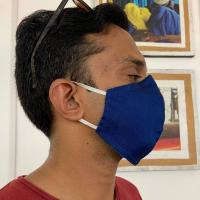 Face covering PeoplesMask, assorted colours, medium 21x15.5cm