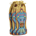 Incense and holder in jute bag Bollywood **