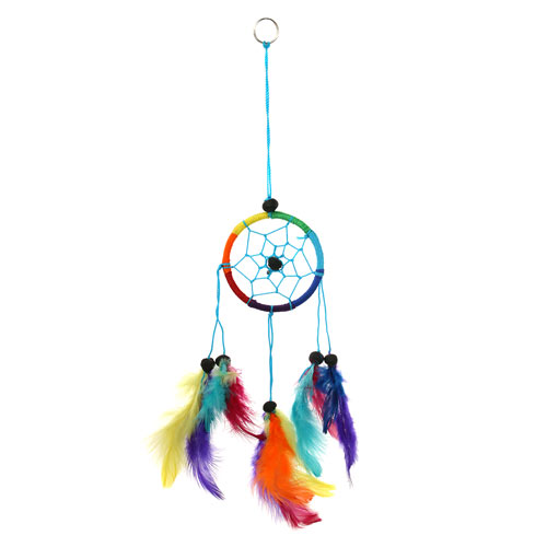 Dreamcatcher rainbow 6cm