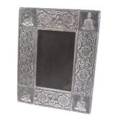 "Aluminium photo frame, Buddha, 4x6"" photo **"