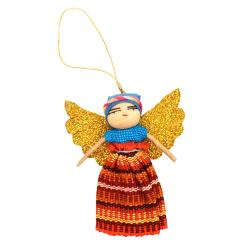 Worry doll angel, single, 8cm