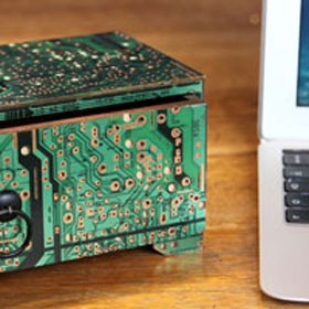 Recycled Computer Circuit Board Gifts