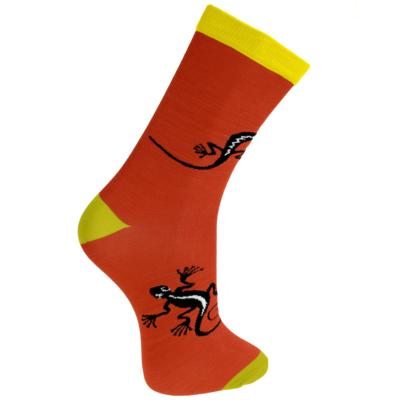 Bamboo socks, gecko terracotta, Shoe size: UK 7-11, Euro 41-47