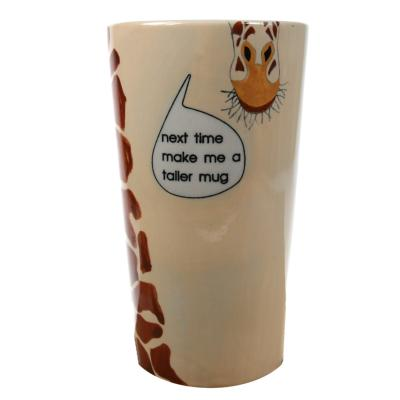 Mug giraffe, 15cm height **