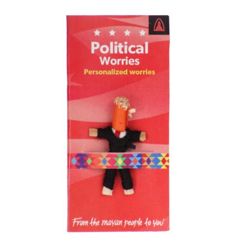 Worry doll mini, political worries