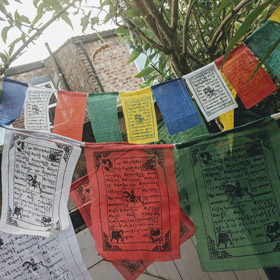 Bunting & Prayer Flags