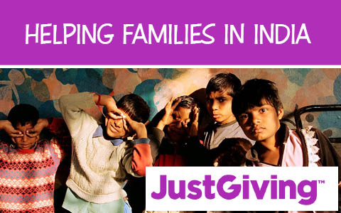 Helping families in India