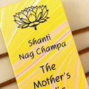 Incense sticks Shanti Nagchampa