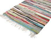 Rag rug 60x45cm assorted colours