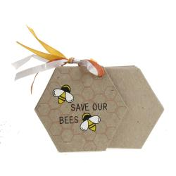 Elephant poo notepad, Save Our Bees