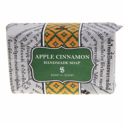 Soap, apple & cinnamon