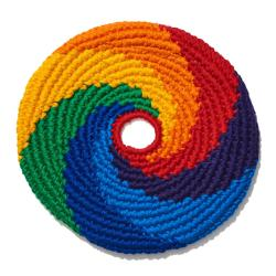 MayaFlya Flying Disc, Sports Rainbow Swirl