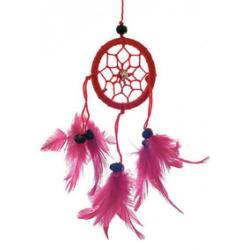 Dreamcatcher 5cm red
