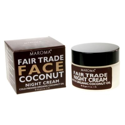 Night face cream, cold pressed Organic Coconut Oil 50g