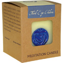 Chakra meditation candle 300g third eye