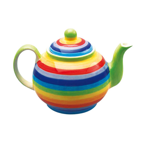 Large Rainbow Teapot
