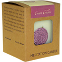 Chakra meditation candle 300g crown