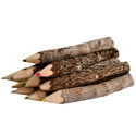 Twig colour pencils. pack of 10, 8.5cm