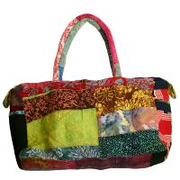 Bag patchwork, padded